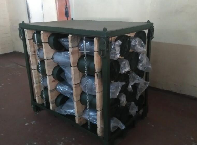 Первые образцы тары для хранения снарядов уже начали поступать в ВСУ / Генштаб Украины