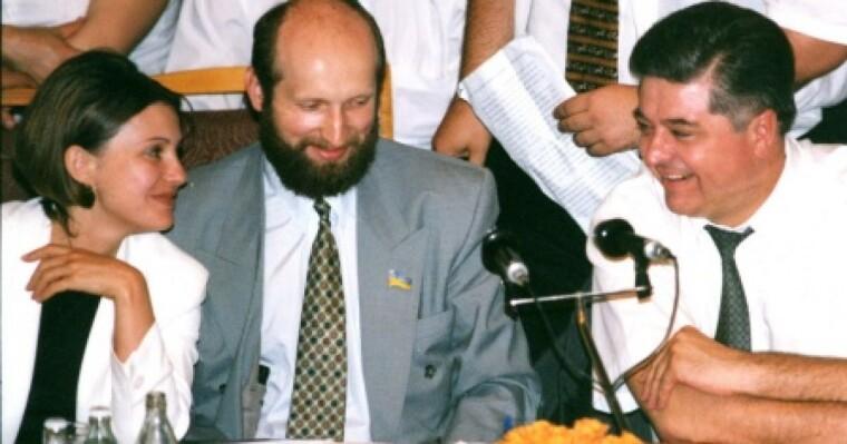 Юлия Тимошенко, Александр Турчинов и Павел Лазаренко