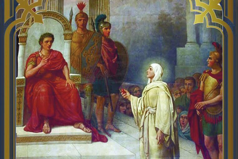 Мария Магдалина, Тиберий и покрасневшее яйцо