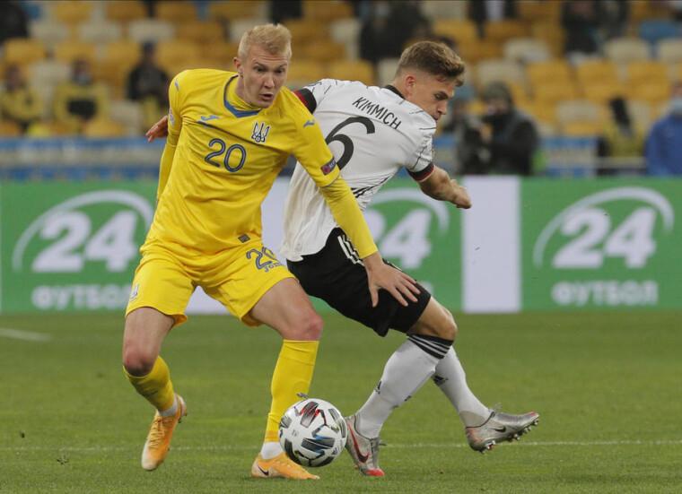 Віктор Коваленко у складі Збірної України з футболу