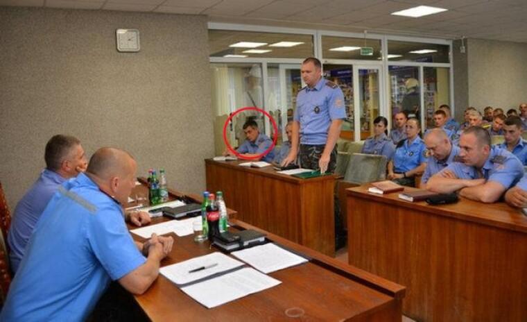 Дмитро Анцупов на нараді