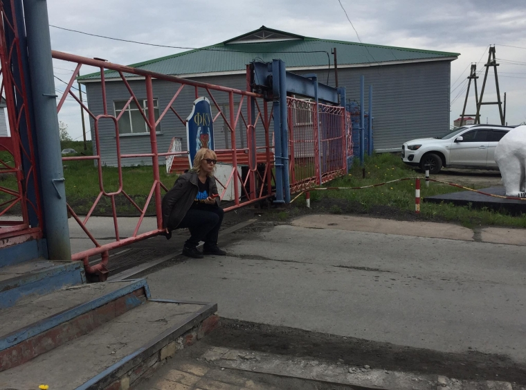 Людмилу Денісову не пускають до колонії Лабитнангі на зустріч з Олегом Сенцовим, 2018 рік