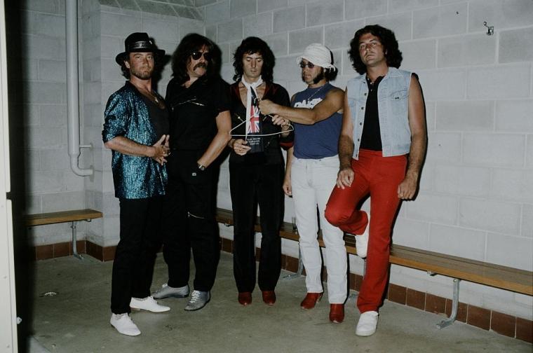 Deep Purple за кулисами, концерт в Австралии, ноябрь 1984 г.