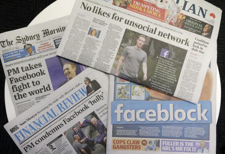 Австралія стала першою державою, уряд якої зможе встановлювати техногігантам ціну за новинний контент медіакомпаній/East News