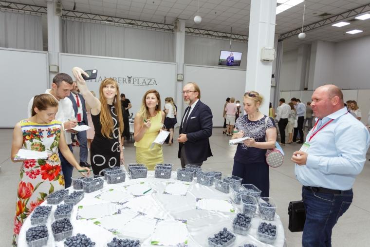 """Дегустація лохини в рамках конкурсу на форумі """"Ягоди-2021"""""""