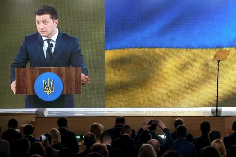 Выступление Владимира Зеленского на съезде партии Слуга народа
