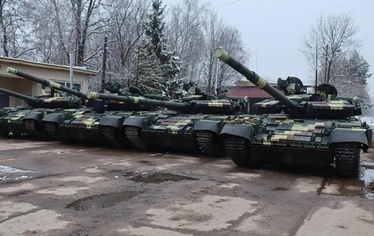 Модернизированные танкци Т-64 / slovoidilo.ua
