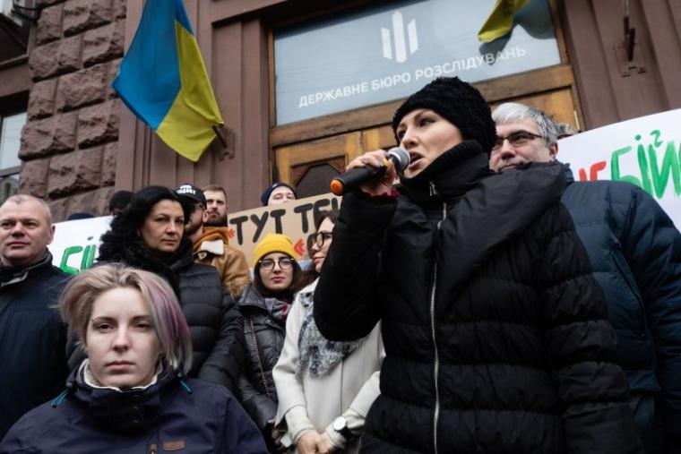 Народні депутати Яна Зінкевич та Софія Федина