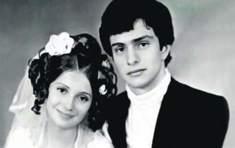 Юлия и Александр Тимошенко в день свадьбы / opentv.media