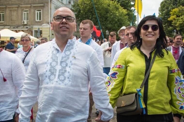 Максим Степанов с женой Натальей