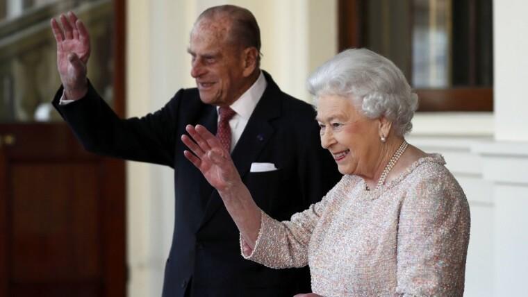 Принц Філіп і королева Великої Британії Єлизавета II