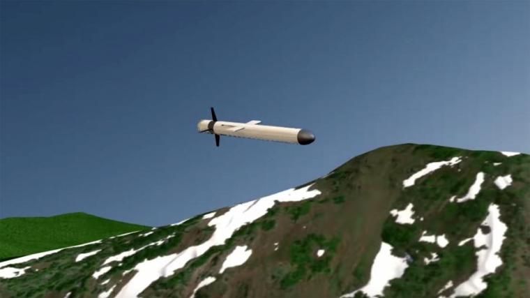 """Прототип ракеты """"Буревестник"""""""