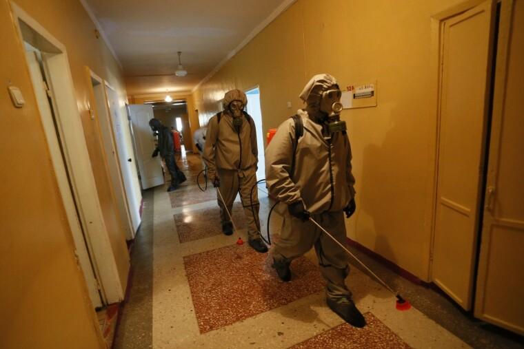 За даними «мінохоронздоров'я ДНР» на 10 жовтня, виявлено 4470 випадків коронавірусної інфекції, які спричинили 281 смерть