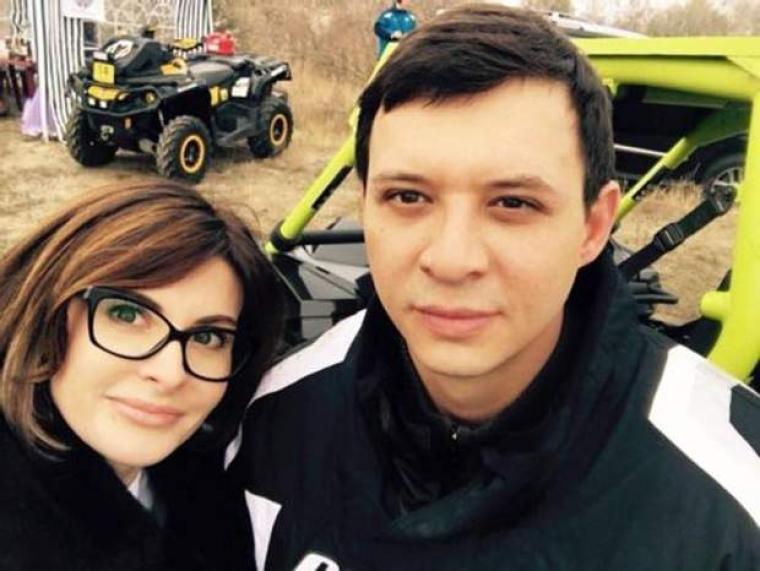 Євгеній Мураєв з колишньою дружиною Валерією