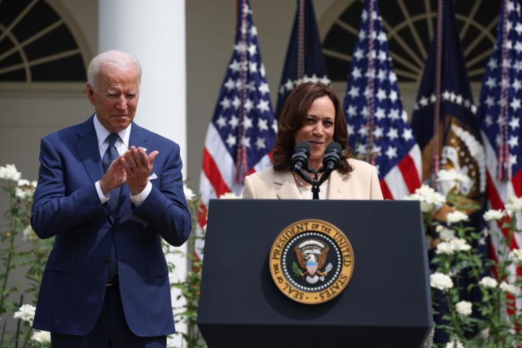 Президент Джо Байден і віце-президент США Камала Харріс, 2021 р