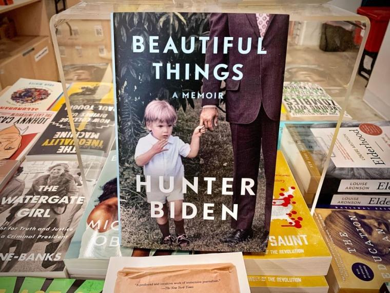 Опубліковані Хантером Байденом мемуари «Beautiful Things, A Memoir»