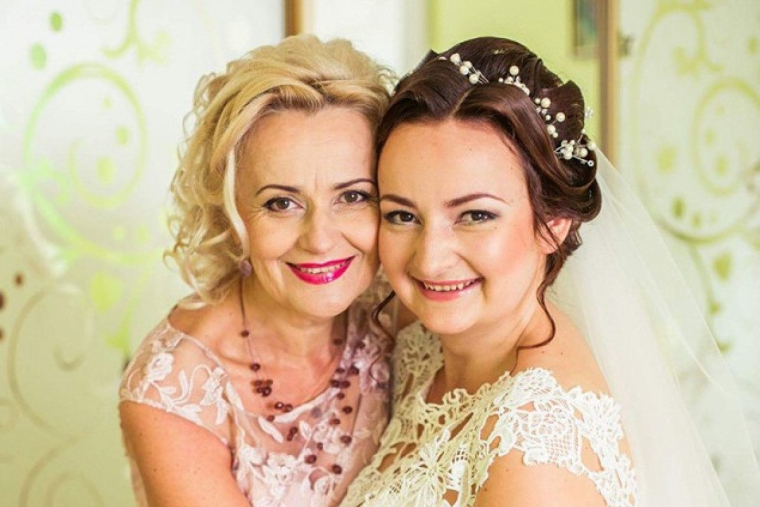 Ірина Фаріон з донькою