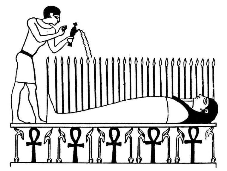 Культ Осириса также обещал каждому человеку новую и вечную жизнь после смерти