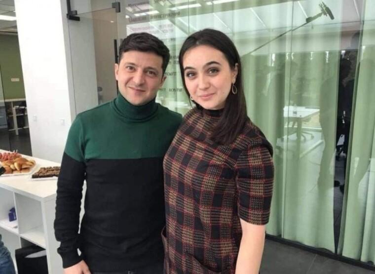 Юлія Мендель і Володимир Зеленський/facebook.com