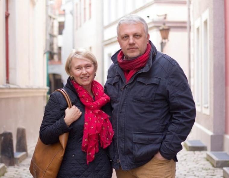 Алена Притула и Павел Шеремет / golos-narodu.com.ua