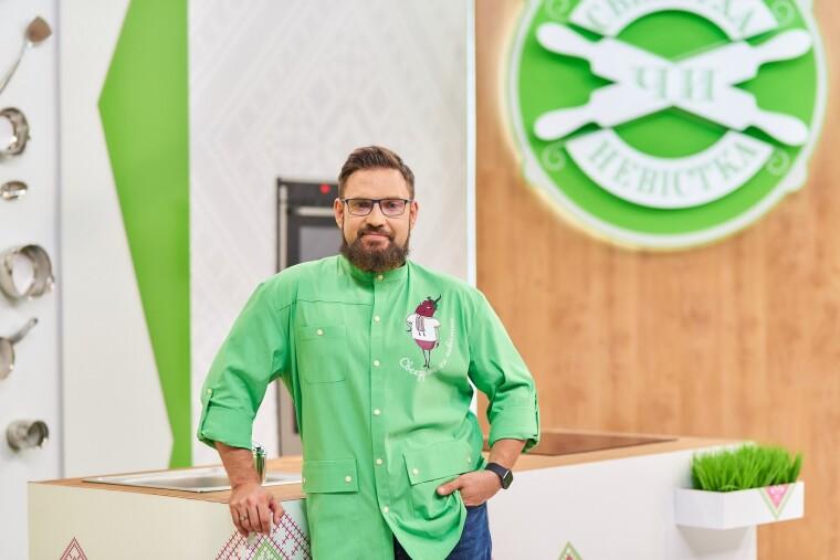 Ведучий кулінарного шоу Григорій Герман