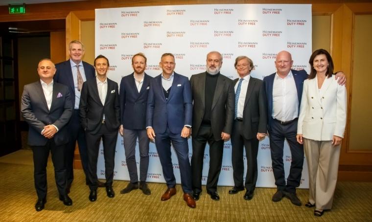 Высшее руководство Gebr. Heinemann и BF&GH Travel Retail Limited