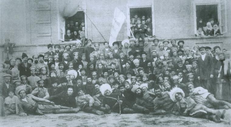 З'їзд Вільного козацтва в Чигирині в жовтні 1917 року