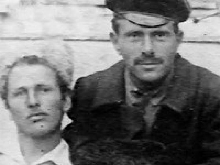 Заместитель командующего РПАУ Василий Куриленко (слева) и бывший начальник штаба РПАУ Виктор Белаш (справа)