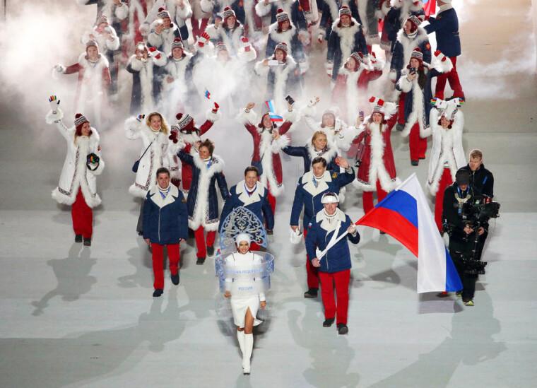 Сборная России на Олимпиаде в Сочи