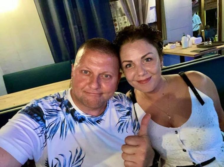 Валерій та Олена Залужні