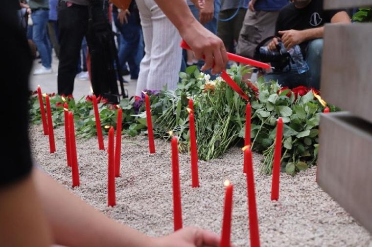 Акция памяти в Тбилиси