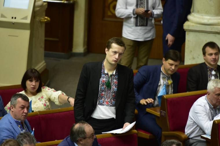 Алексей Порошенко в Верховной Раде