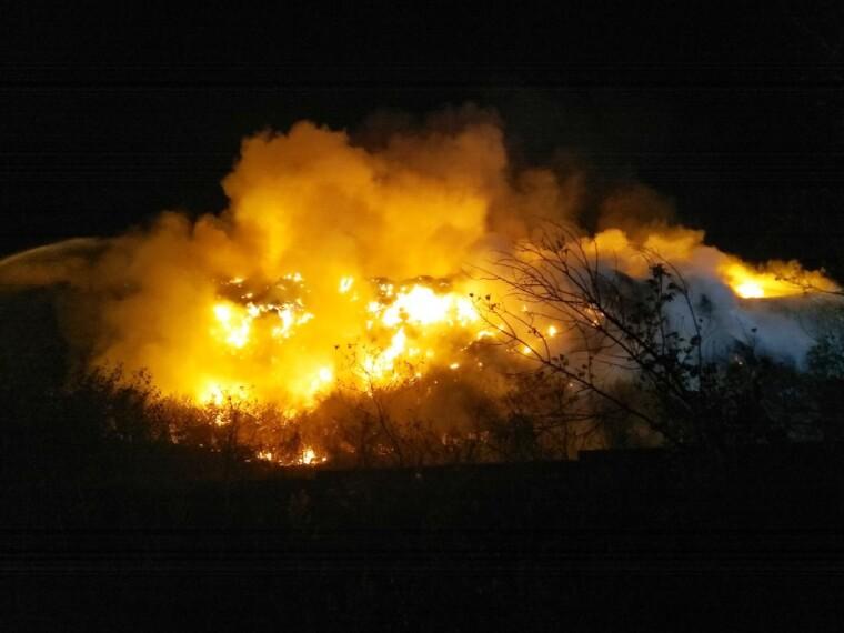 пожар в житомире
