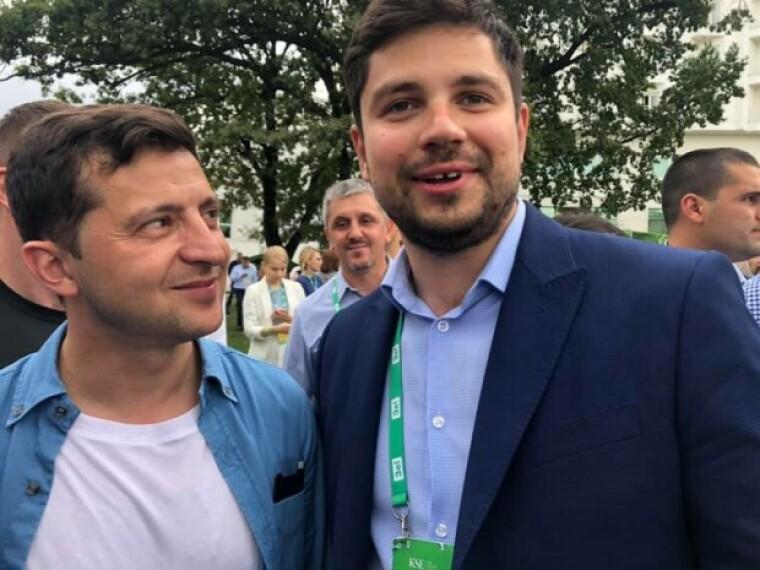 Владимир Зеленский и Александр Качура