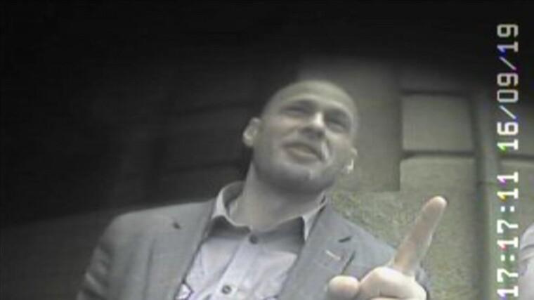 Денис Єрмак, скріншот з відео