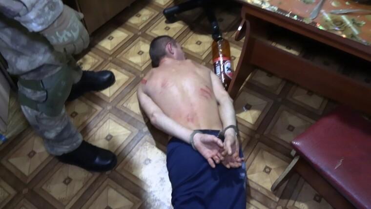 Бойцы спецподразделения КОРД задержали злоумышленника