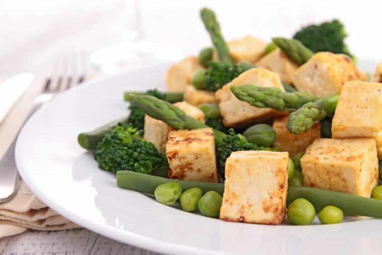 Жареный тофу – оригинально, полезно, сытно, вкусно, красиво