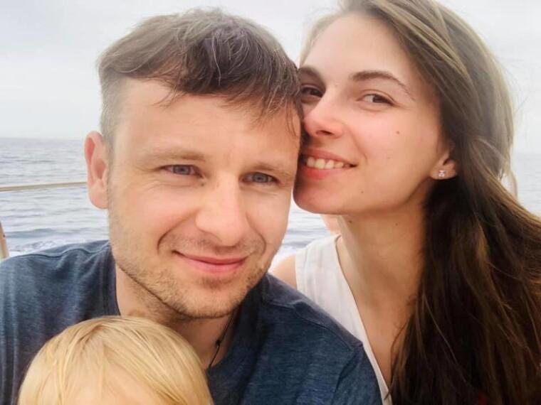 Сергей Марченко с супругой Мариной