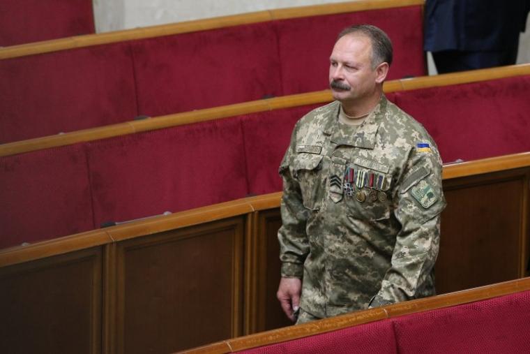 Олег Барна в зале Верховной Рады, 2019