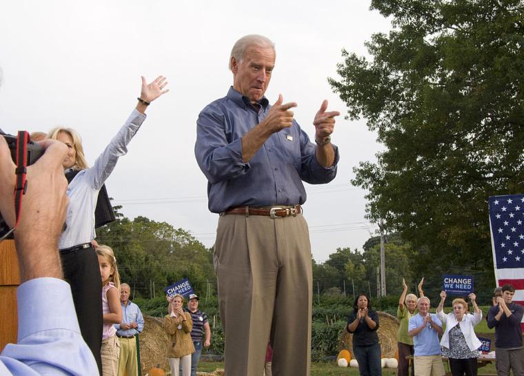 Кампанія сенатора Джо Байдена на пост віце-президента, вересень 2008 р