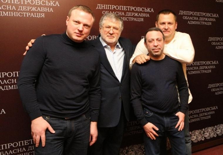 Святослав Олійник, Ігор Коломойський, Геннадій Корбан та Борис Філатов / nv.ua