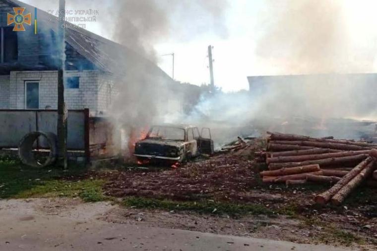 Причиной пожара стали детские шалости с огнем