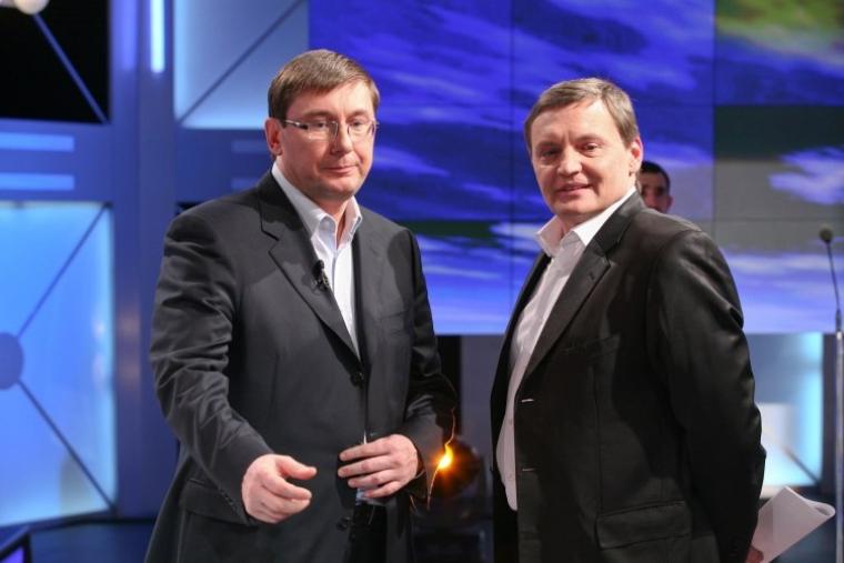 Юрий Луценко и Юрий Грымчак