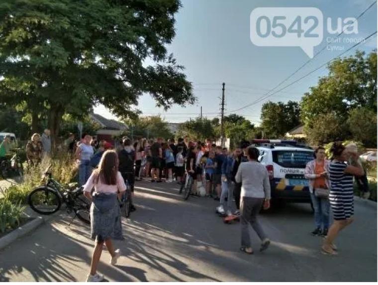 Протест местных жителей
