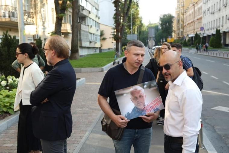 Вшанування пам'яті Павла Шеремета