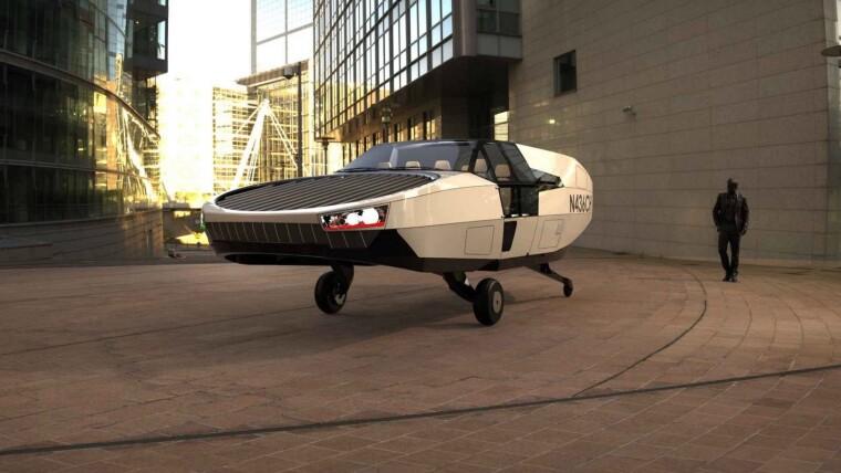 Проект аэротакси CityHawk / Urban Aeronautics