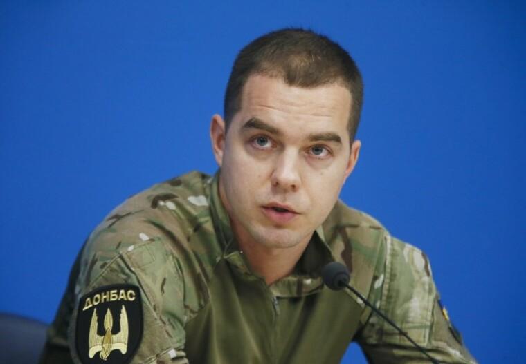 """сержант батальйону """"Донбас"""" Євген Шевченко"""