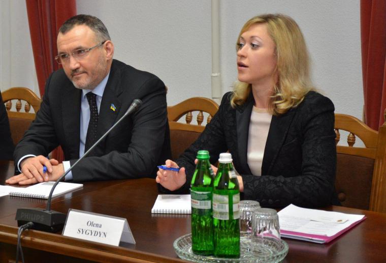 Ренат Кузьмін та Олена Сигидин