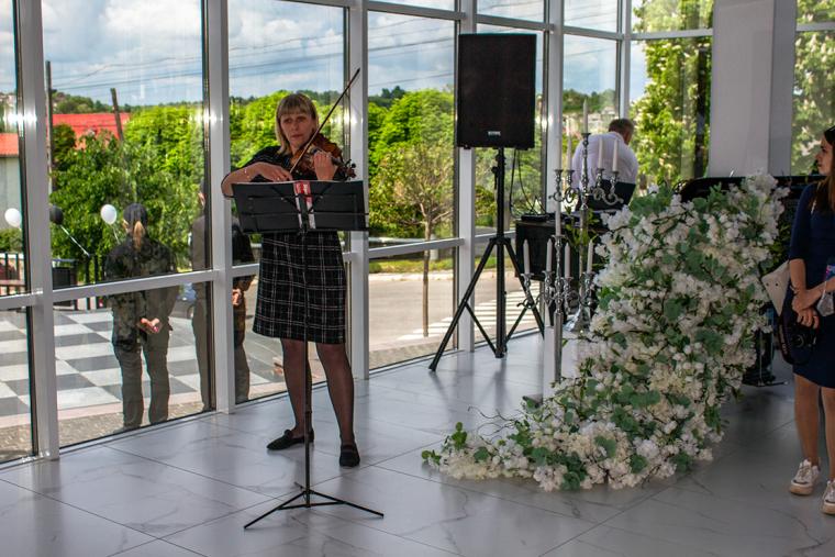 Церемония открытия музея