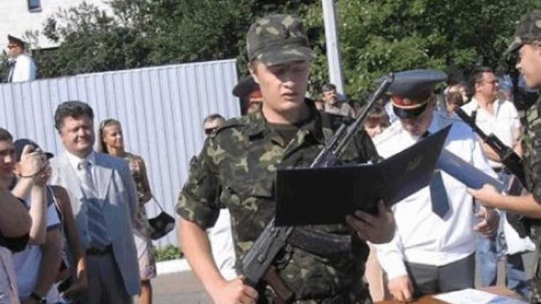 Алексей Порошенко принимает присягу